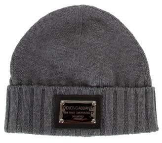 Dolce & Gabbana Wool Lightweight Knit Beanie