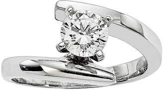 MODERN BRIDE 1/2 CT. Diamond 14K White Gold Solitaire Ring