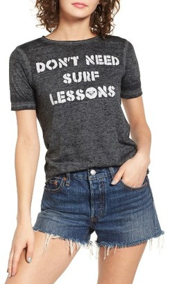 Women's Roxy Puerto Pic Surf Lessons Tee $28.50 thestylecure.com
