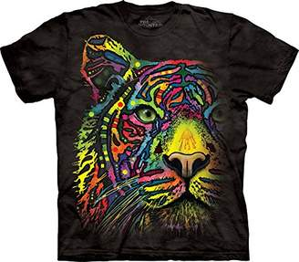 The Mountain Men's Rainbow Tiger T-Shirt