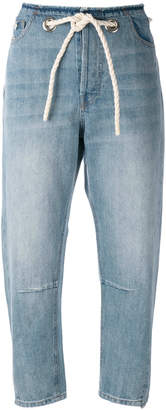 Diesel De-kima drawstring jeans