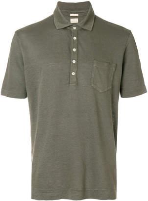 Massimo Alba button polo shirt