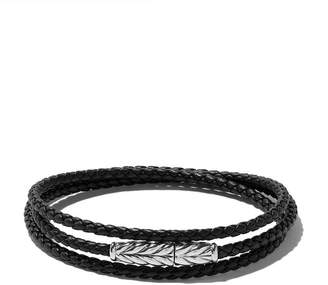 David Yurman Chevron triple-wrap bracelet