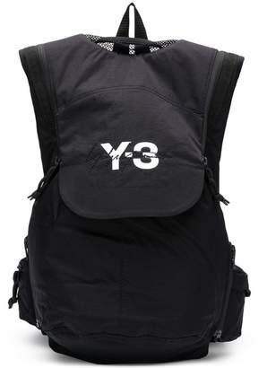 Y-3 logo printed backpack