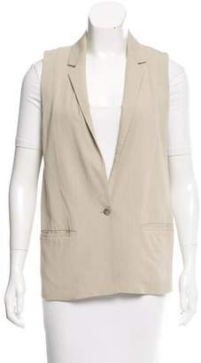 J Brand Casual Notch-Lapel Vest