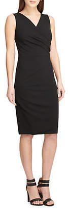 DKNY Pleated Sleeveless Sheath Dress