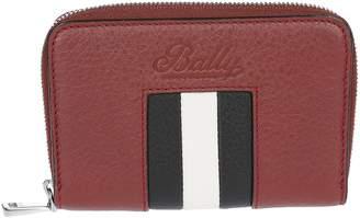 Bally Logo Zip-around Wallet