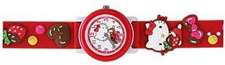 SANRIO (サンリオ) - サンリオ ハローキティ デコキッズウォッチ 可愛い腕時計ファーストウォッチ レッド KITTY SR-S01