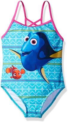 Disney Finding Dory Nemo Girls Swimwear Swimsuit (Little Kid)