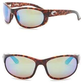 Costa del Mar Howler Polarized 62mm Wrap Sunglasses
