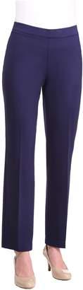 Alia Plus Size Pull-On Straight Leg Pant