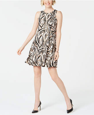 Kasper Printed Swing Dress