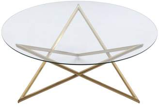 Armen Living Crest Contemporary Coffee Table