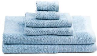 6pc Soffee Quick Dry Towel Set