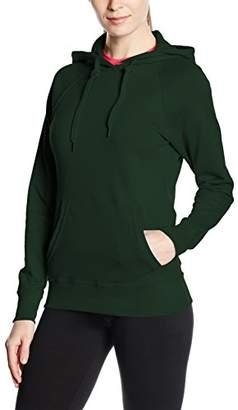 Fruit of the Loom Women's Pull-Over Lightweight Hooded Sweat,16 (Manufacturer Size:)