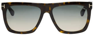Tom Ford Tortoiseshell Morgan Sunglasses