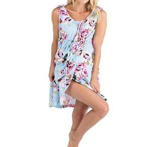5b580ae178d75 XBRECO Maternity Labor Delivery Nursing Nightgown Dress Floral Robe Hospital  Bag Breastfeeding Sleepwear