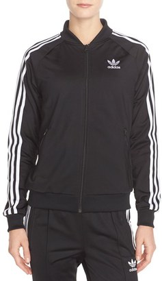 Women's Adidas Originals Supergirl Track Jacket $70 thestylecure.com