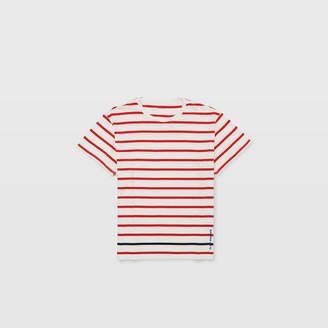 Club Monaco Embroidered Stripe Tee