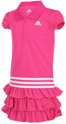 adidas Cap Sleeve Dress - Toddler Girls