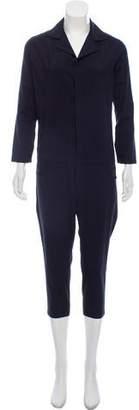 6397 Wool Long Sleeve Jumpsuit