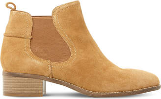Steve Madden Ladies Taupe Timeless Dicey Sm Suede Chelsea Boots