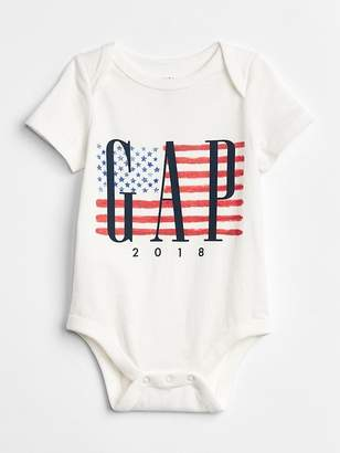 Gap Flag Logo Bodysuit