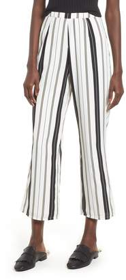 Amuse Society High Society Stripe Crop Pants