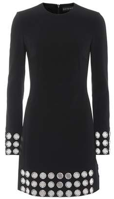 David Koma Embellished cady dress