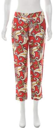 Thakoon Silk Patterned Pants