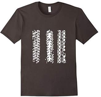 Dirt Bike T-shirt | Motocross Motorcycle Tire Tread Tee