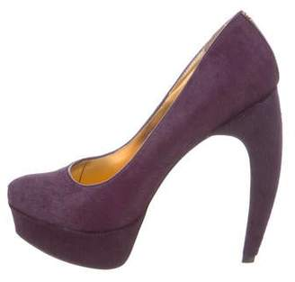 Ted Baker Ponyhair Pointed-Toe Pumps