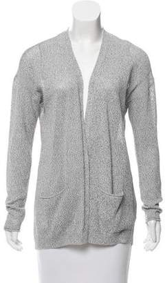 Magaschoni Knit Open Front Cardigan