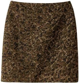 Express SUD Metallic Stlye Jacquard Skirt