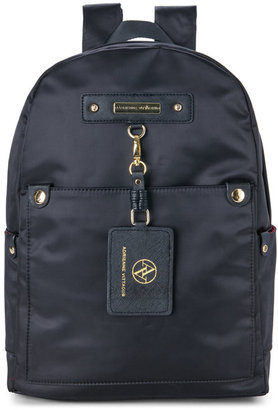 adrienne vittadini Travel Light Nylon Backpack $178 thestylecure.com
