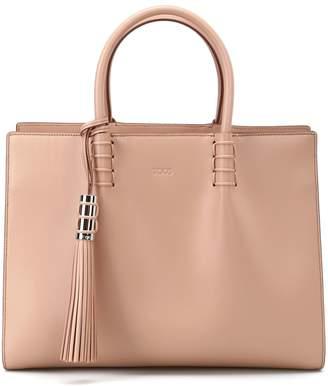 Tod's Smooth Leather Medium Shopping Bag