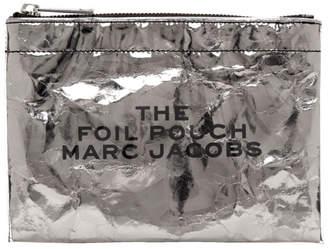 Marc Jacobs (マーク ジェイコブス) - Marc Jacobs シルバー ホイル フラット ポーチ