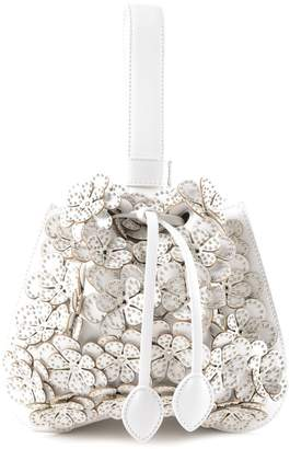 Alaia Floral Studded Tote