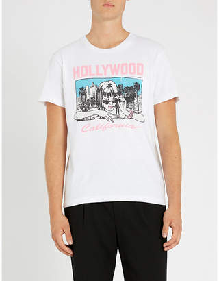 Cover Girl Local Authority printed cotton-jersey T-shirt