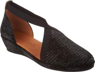 Kenneth Cole Gentle Souls By Gentle Souls Leather Closed Toe Wedges - Natalia