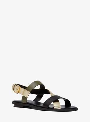 MICHAEL Michael Kors Mackay Tri-Color Sandal