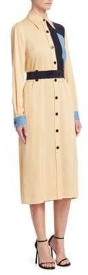 Victoria Beckham Victoria, Colorblock Shirt Dress