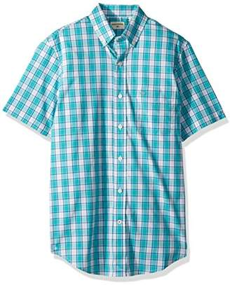 Dockers Comfort Stretch Soft No Wrinkle Short Sleeve Button Front Shirt