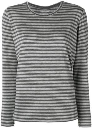 Majestic Filatures striped longsleeved T-shirt