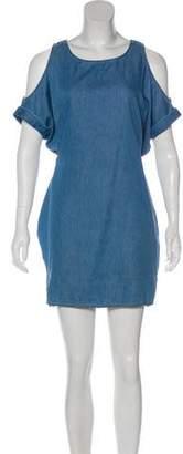 AllSaints Chambray Mini Dress