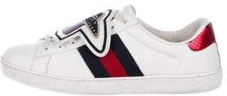 Gucci 2017 Ace Web Sneakers