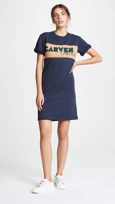 Carven Fleece Tee Dress