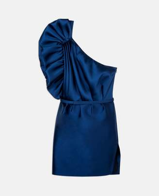 Stella McCartney polly sapphire mini dress