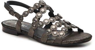 Women's Elzira Flat Sandal -Bronze Metallic $150 thestylecure.com