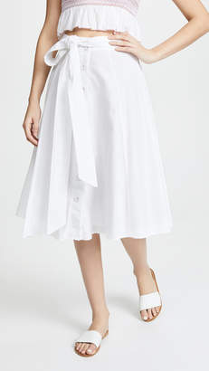 Kos Resort Tie Front Skirt